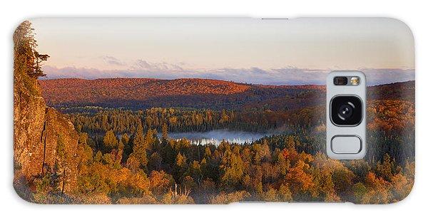 Fall Colors Orberg Mountain North Shore Minnesota Galaxy Case
