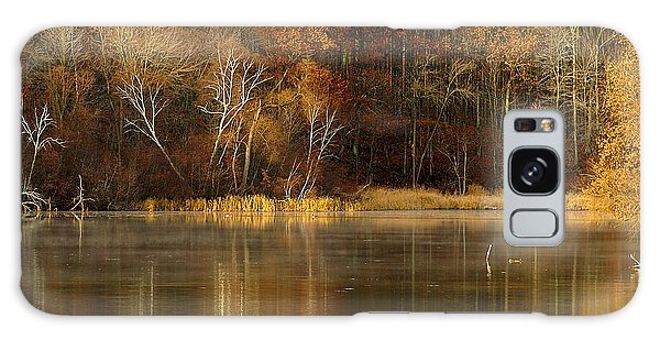 Fall Cove Galaxy Case by Thomas Young