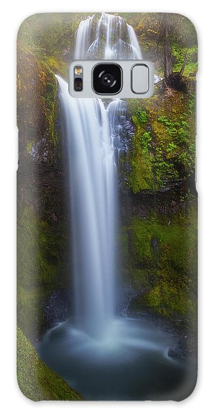 Galaxy Case featuring the photograph Fall Creek Falls by Darren White