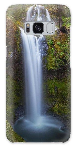 Fall Creek Falls Galaxy Case by Darren White