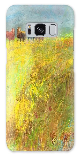 Fall Day On The Mesa Galaxy Case by Frances Marino