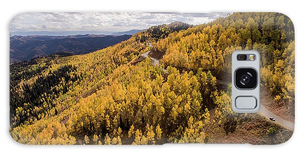 Galaxy Case featuring the photograph Fall Drive by Wesley Aston