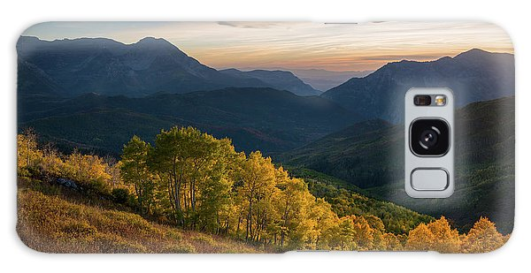 Fall Evening In American Fork Canyon Galaxy Case