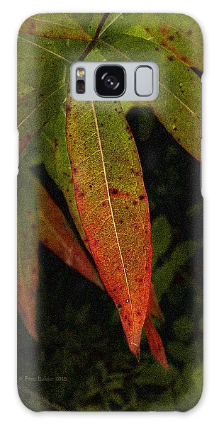 Fall Fireweed 1 Galaxy Case