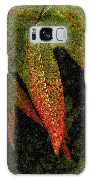 Fall Fireweed 1 Galaxy Case