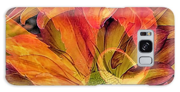 Fall Floral Composite Galaxy Case by Janice Drew