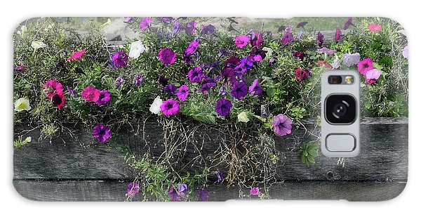 Fall Flower Box Galaxy Case