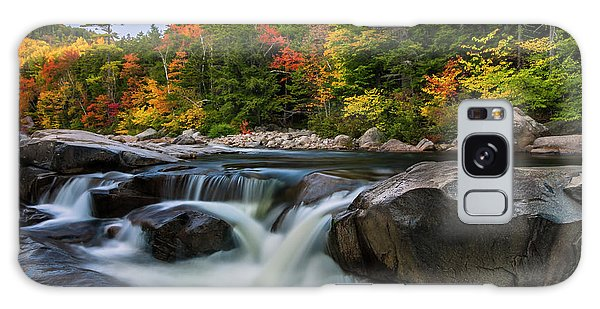 Fall Foliage Along Swift River In White Mountains New Hampshire  Galaxy Case