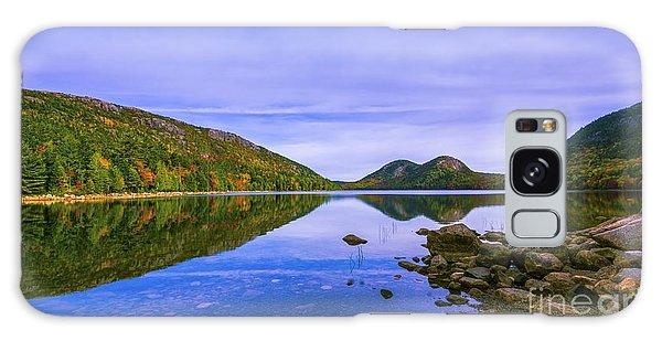 Fall Foliage At Jordan Pond. Galaxy Case
