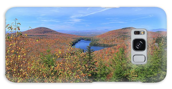 Fall Foliage At Owl's Head Groton State Forest Galaxy Case by John Burk
