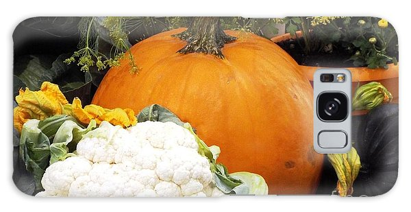 Fall Harvest Galaxy Case by Judyann Matthews