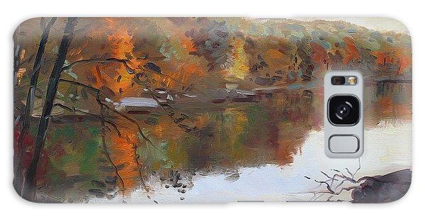 Mountain Lake Galaxy Case - Fall In 7 Lakes by Ylli Haruni