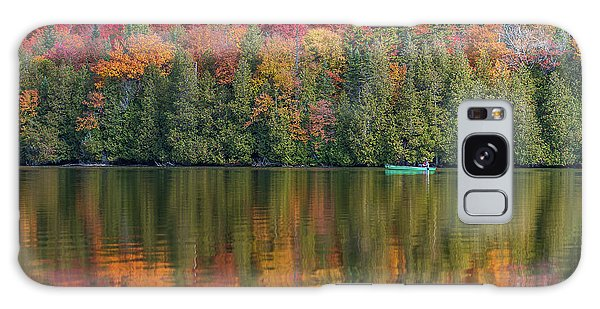 Fall In A Canoe Galaxy Case