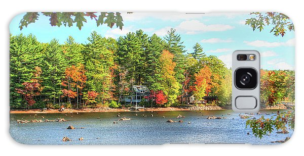 Fall In New England Galaxy Case