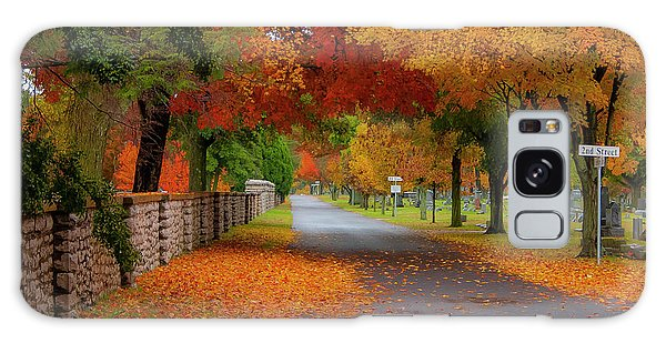 Fall In The Cemetery Galaxy Case