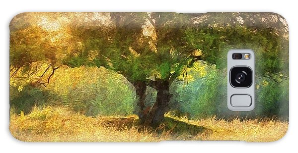Fall In The Meadow Galaxy Case by Rena Trepanier