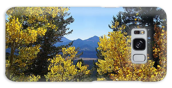Fall In The Rockies Galaxy Case
