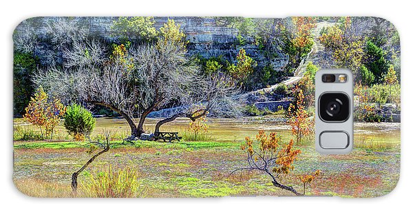 Fall In The Texas Hill Country Galaxy Case