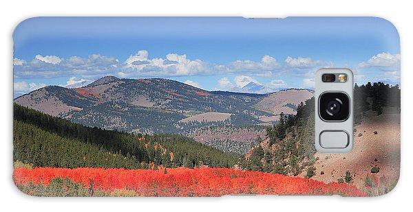 Fall In  Ute Trail  Galaxy Case