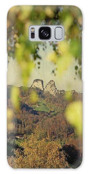 Susann Serfezi Galaxy Case - Fall-ing Leaves by AugenWerk Susann Serfezi