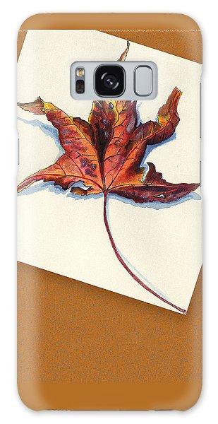 Fall Leaf Galaxy Case