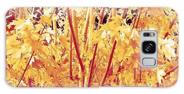 Fall Leaves #1 Galaxy Case
