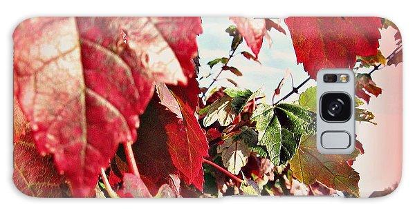 Fall Leaves #10 Galaxy Case