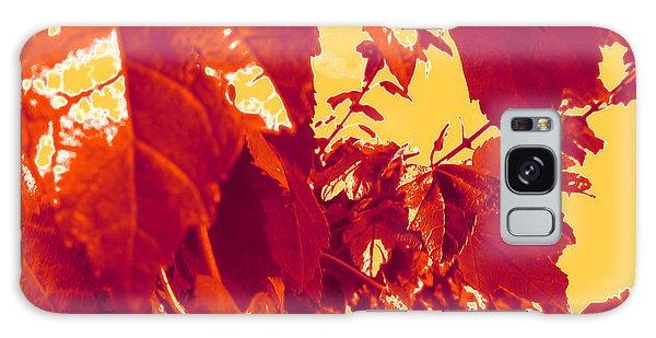 Fall Leaves #13 Galaxy Case