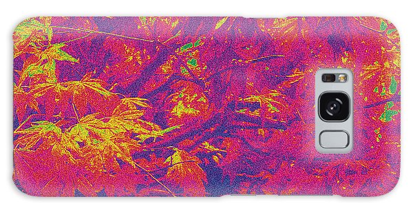 Fall Leaves #14 Galaxy Case