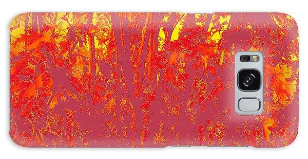 Fall Leaves #4 Galaxy Case