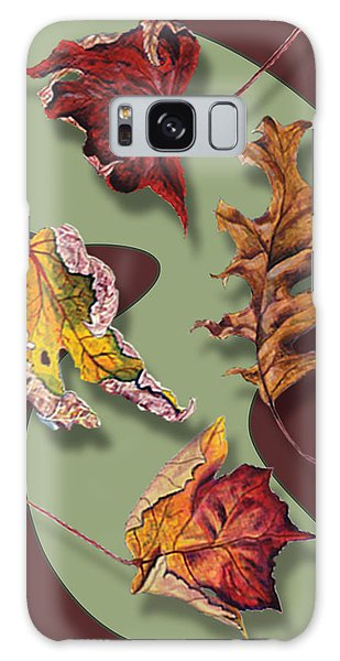 Fall Leaves Card Galaxy Case