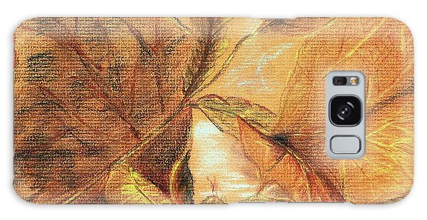 Fall Leaves Galaxy Case by Vonda Lawson-Rosa