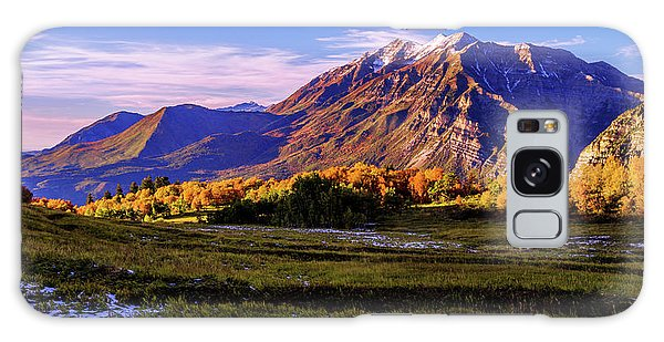 Sunset Galaxy Case - Fall Meadow by Chad Dutson