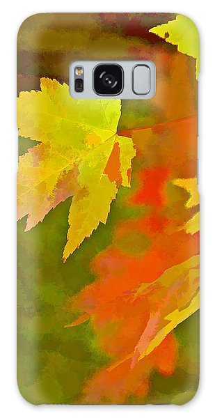 Fall Of Leaf Galaxy Case