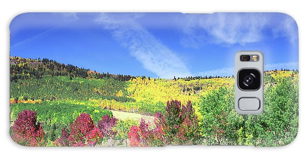 Fall On County Road 12 Galaxy Case