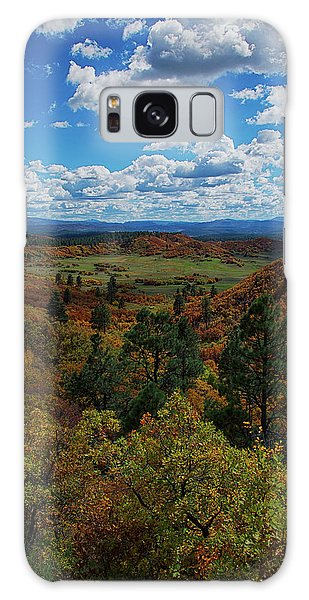 Fall On Four Mile Road Galaxy Case by Jason Coward