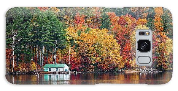 Fall On Lake Winnipesaukee Galaxy Case