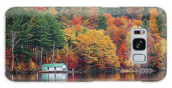 Fall On Lake Winnipesaukee Galaxy Case