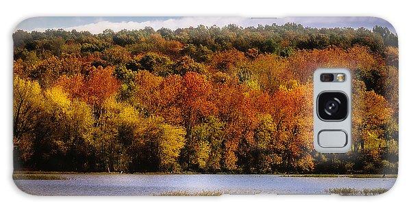 Fall On Springfield Lake Galaxy Case