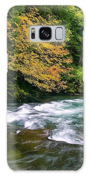 Fall On The Clackamas River, Or Galaxy Case