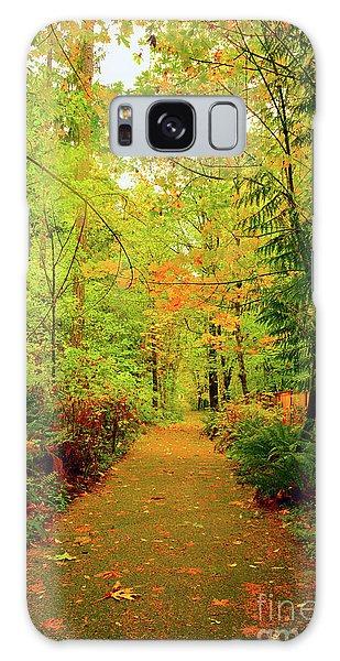 Fall Path Too Galaxy Case