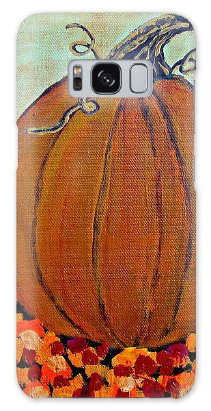 Fall Pumpkin Galaxy Case