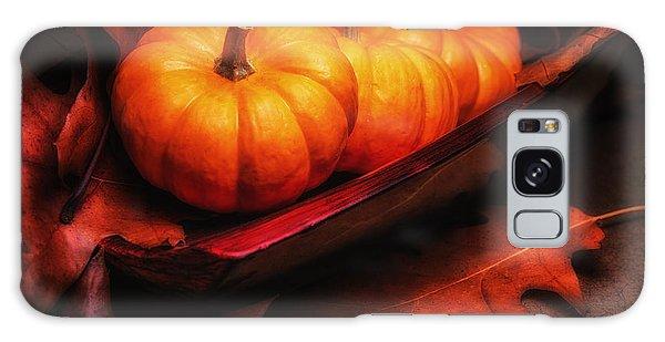 Decorative Galaxy Case - Fall Pumpkins Still Life by Tom Mc Nemar