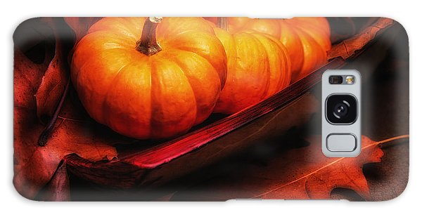 Pumpkin Galaxy S8 Case - Fall Pumpkins Still Life by Tom Mc Nemar
