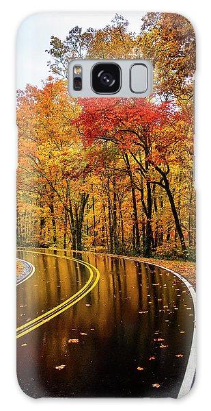 Fall Rain Galaxy Case