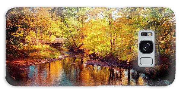 Fall Scene In Stillwater Galaxy Case