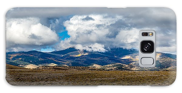 Fall Storm Clearing Off Pintada Mountain Galaxy Case