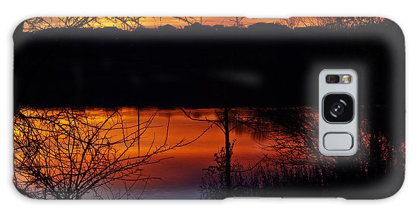 Fall Sunset Galaxy Case