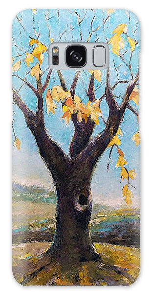 Fall Tree In Virginia Galaxy Case by Becky Kim