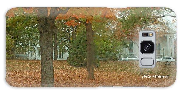 Fall Trees Galaxy Case